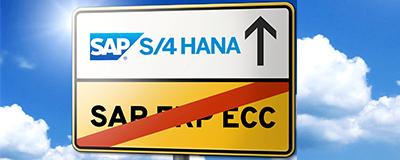 Von ERP 6.0 zu SAP S4HANA 400x160 - Räumlich getrennt und trotzdem nah am Kunden – SAP-Beratung in Zeiten von Social Distancing