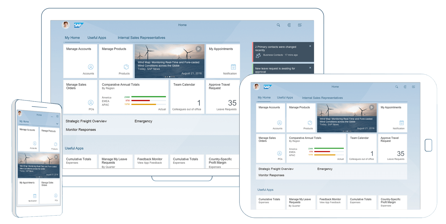 Fiori 2.0: Eine Benutzeroberfläche für alle Anwendungen ...