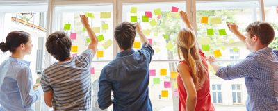 News Foto Design Thinking Workshop 4 400x160 - Innovabee ist erneut fittestes KMU beim B2Run Stuttgart