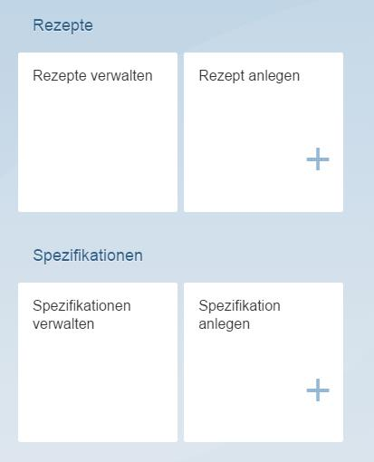 News Screenshot Rezepturmanagement Apps im Fiori Launchpad für die Produktentwicklung - Integrierte Rezepturentwicklung mit SAP Recipe Development