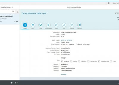 News_Screen_Focused_Build_Work package SAP UI5 app