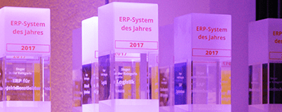 "News ERP System des Jahres 2017 Preise 400x160 400x159 - Experton SAP HANA Vendor Benchmark 2017: Innovabee zählt zu den ""Leadern"""