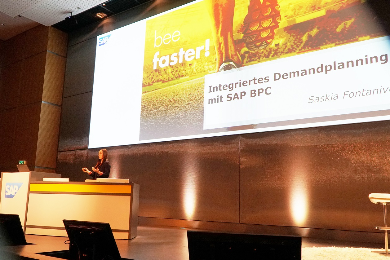 Blog Foto Vortrag SAP Partner Summit for Finance and Analytics SFO - Innovabee auf dem SAP Partner Summit for Finance & Analytics