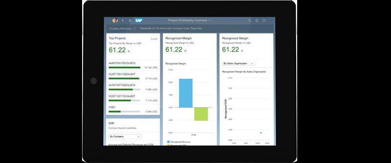 Allgemein Screen S4Cloud Professional Services - SAP-Lösungen