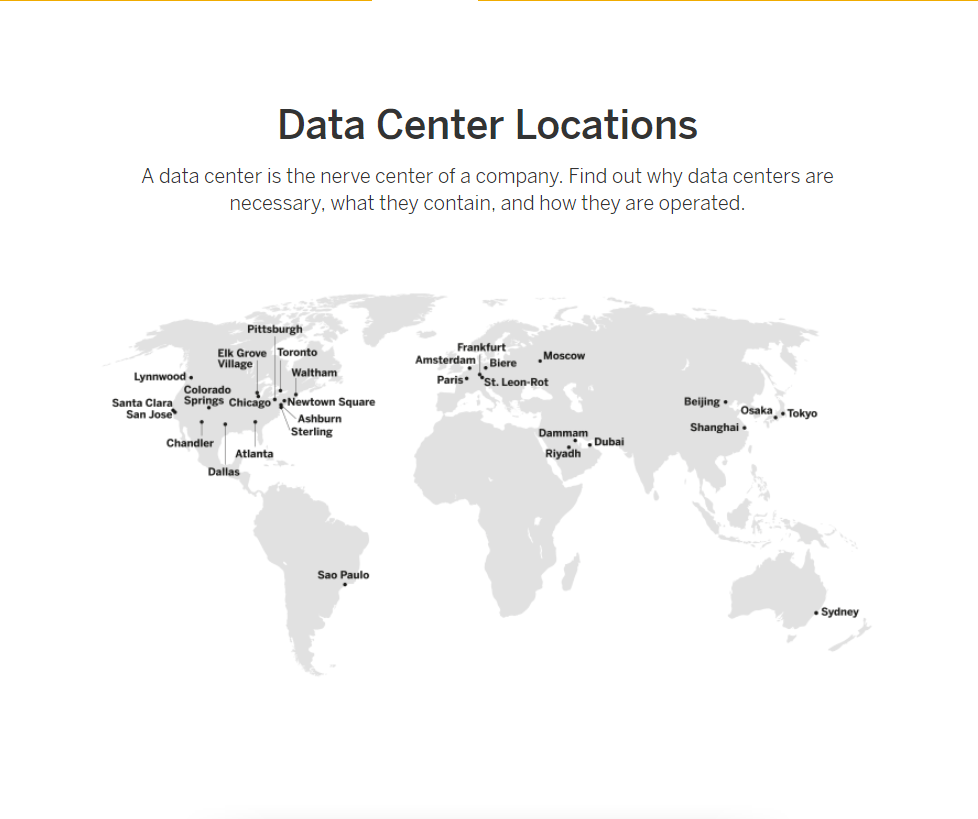Data Center Locations - SAP Cloud Trust Center informiert über Sicherheit von SAP S/4HANA Cloud