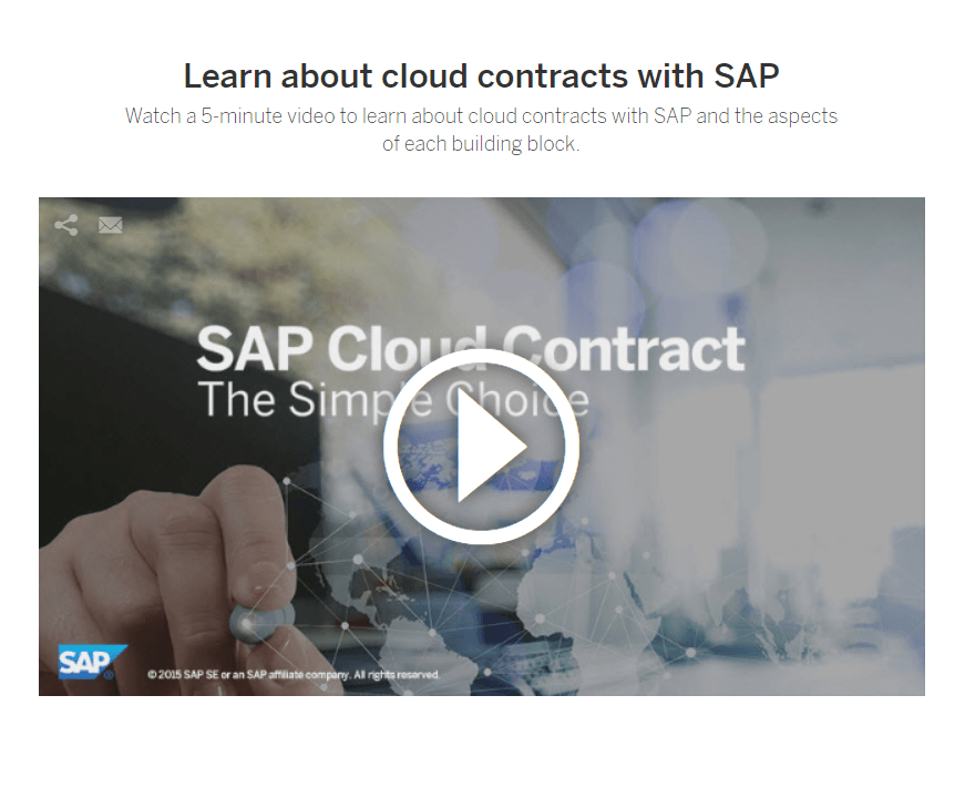 SAP Cloud Contract - SAP Cloud Trust Center informiert über Sicherheit von SAP S/4HANA Cloud