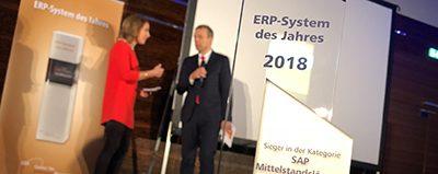 "News Foto ERP System des Jahres 2018 Beitragsbild e1541584988774 400x159 - Experton SAP HANA Vendor Benchmark 2017: Innovabee zählt zu den ""Leadern"""