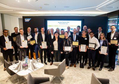 News_Foto_SAP Quality Award_Preisverleihung_1