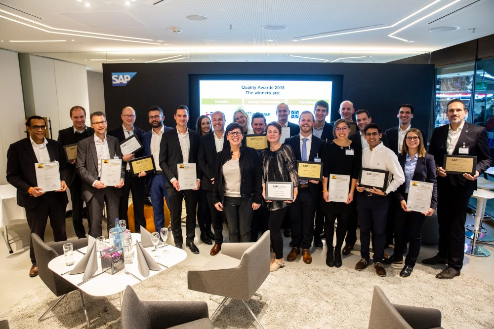 News Foto SAP Quality Award Preisverleihung 1 e1565089864711 - SAP S/4HANA Cloud bei DEE
