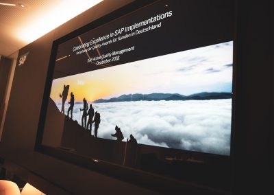 News Foto SAP Quality Award Preisverleihung 2 400x284 - Preisverleihung in Mannheim: DEE mit dem SAP Quality Award in Gold ausgezeichnet