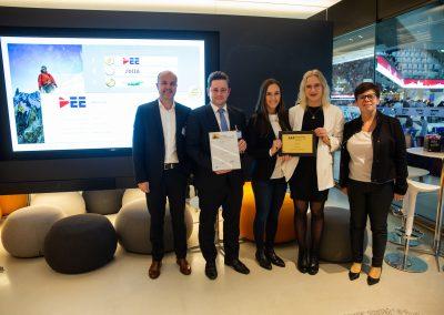 News Foto SAP Quality Award Preisverleihung 6 400x284 - Preisverleihung in Mannheim: DEE mit dem SAP Quality Award in Gold ausgezeichnet