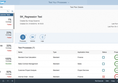 DEE Blog Screen Test Automation Tool Regression 400x284 - SAP S/4HANA Cloud bei DEE