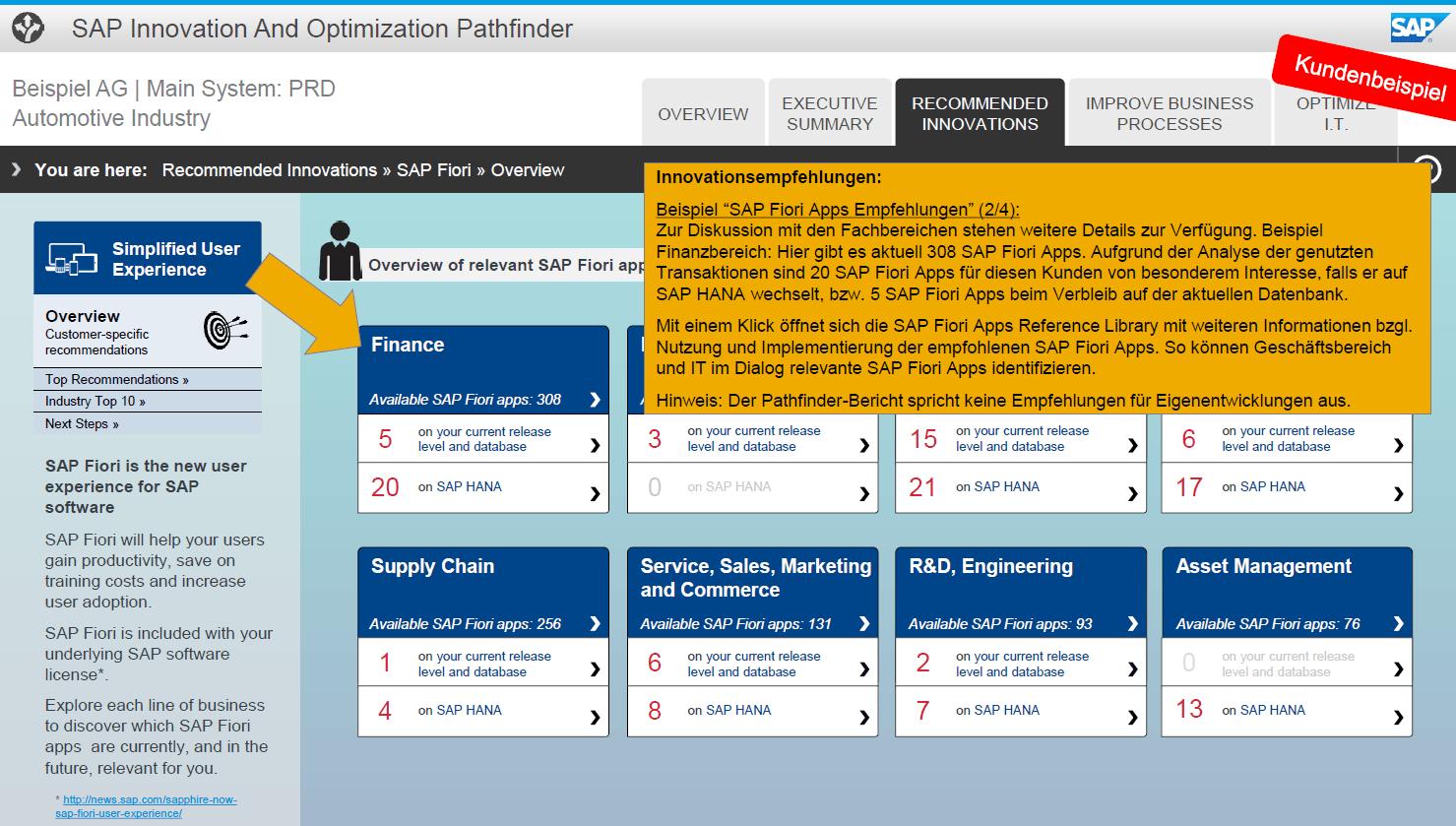 Blog Screen SAP Pathfinder Innovationen 2 - Mit dem SAP Pathfinder holen Sie das Beste aus Ihrem SAP-System