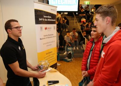 "News Foto Traumberuf IT Technik 2019 3 400x284 - ""Traumberuf IT & Technik"": Schüler informieren sich über duales Studium bei Innovabee"