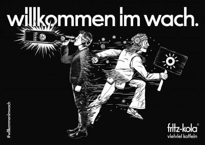 News_Grafik_fritz kola_Willkommen im Wach_Hippie