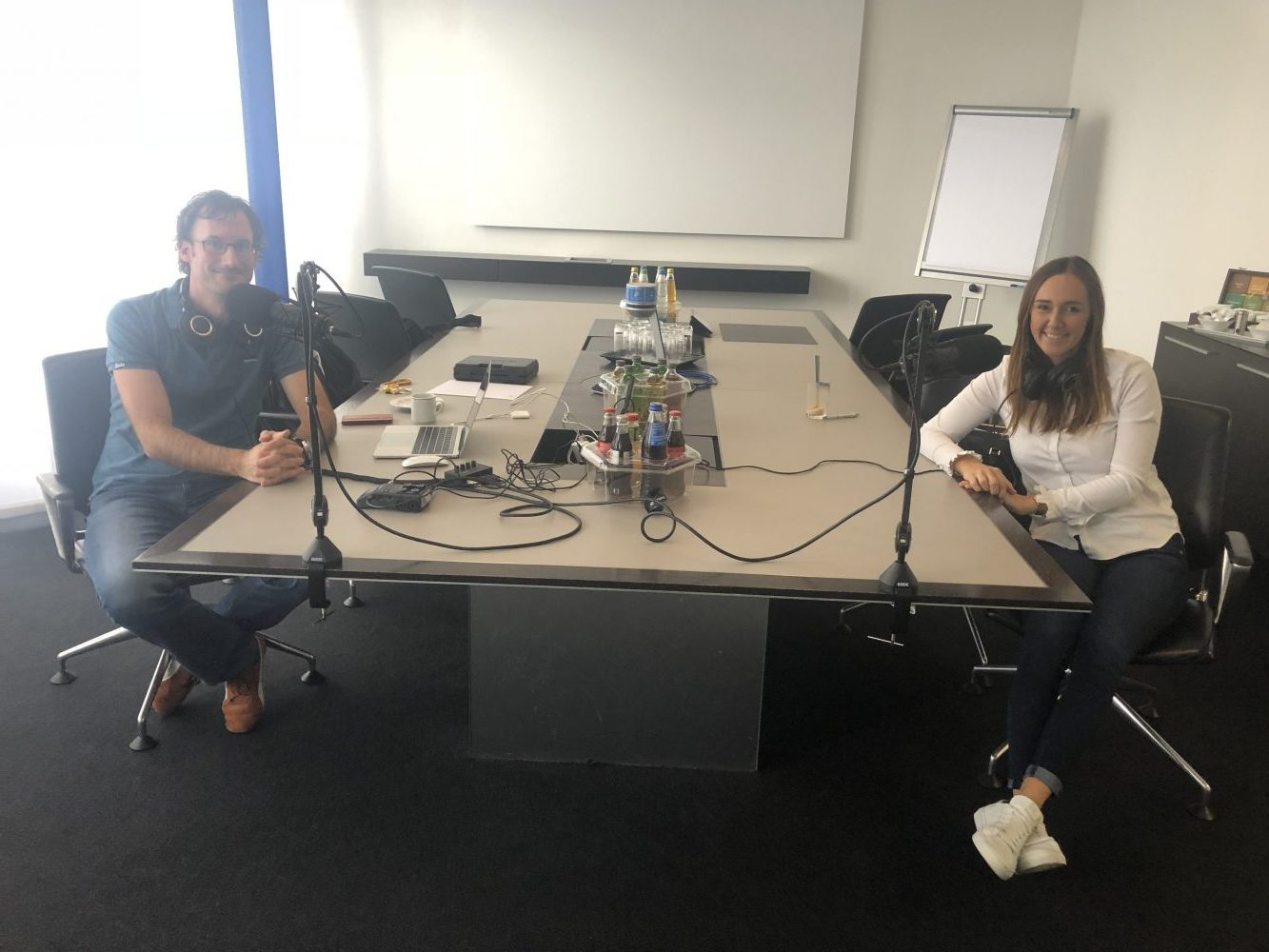 Blog Foto Podcast Saskia Fontanive Alexander Grebe e1568808737954 - Zu Gast bei SAP Experts Podcast: Innovabee featuring DEE und SAP S/4HANA Cloud