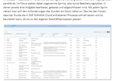 DEE Blog Screen Artikel Computerwoche 3 400x284 - SAP S/4HANA Cloud bei DEE