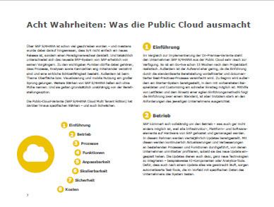 Landing Page Wachsen mit SAP S4HANA Cloud Leitfaden ERP aus der Cloud Acht Wahrheiten 2 - Leitfaden ERP aus der Cloud - Anmeldung