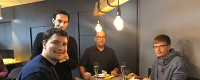 Gepflegt chillen und arbeiten: Innovabee weiht neue Lounge ein