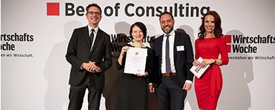 News Foto Best of Consulting Preisverleihung Beitragsbild 400x160 - Räumlich getrennt und trotzdem nah am Kunden – SAP-Beratung in Zeiten von Social Distancing