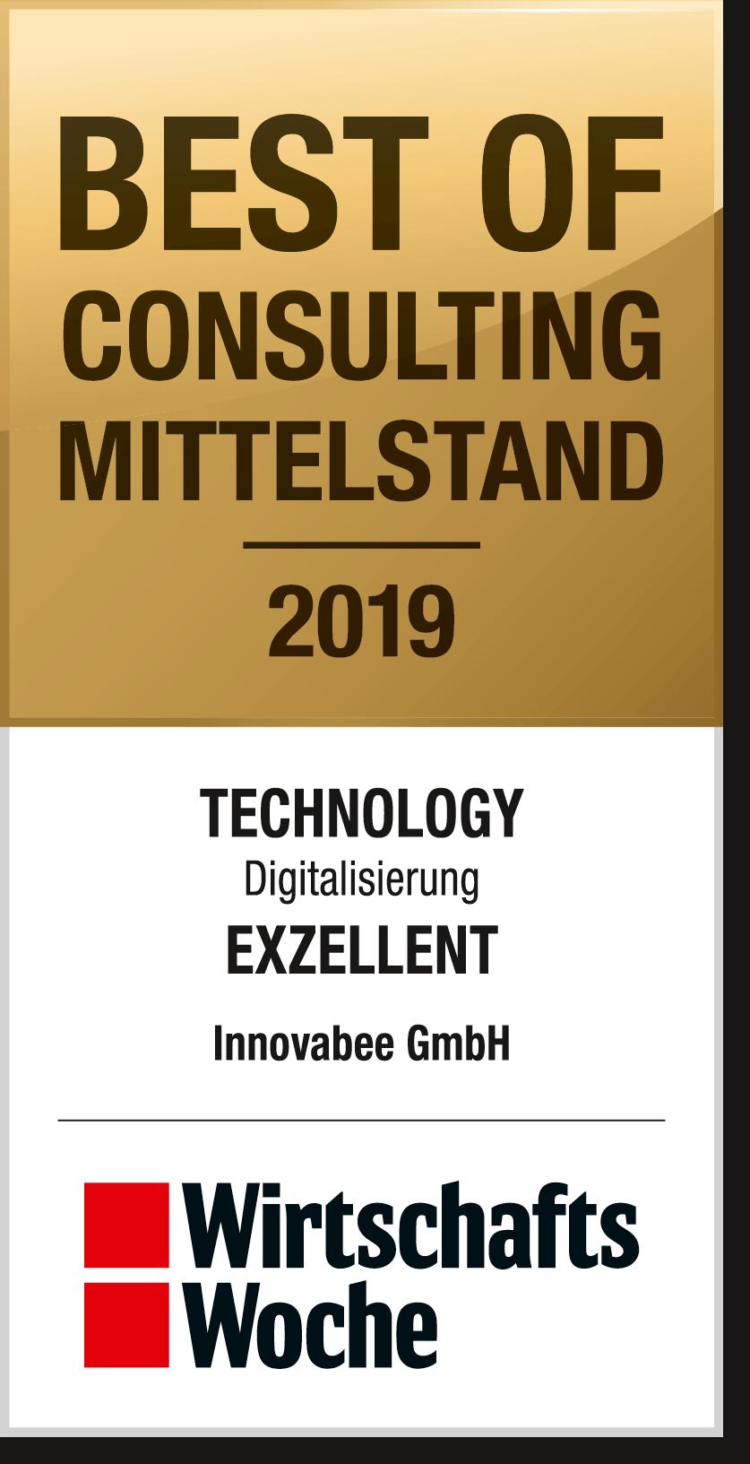 WiWo BOC M 2019 Innovabee GmbH - Innovabee gehört zu den besten Beratungsunternehmen in Deutschland