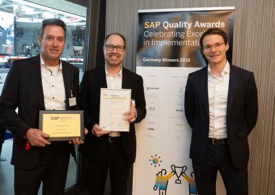 News_Foto_SAP Quality Award_Zeelandia_Innovabee_2019