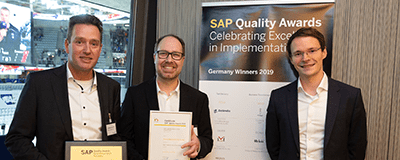 News Foto SAP Quality Award Zeelandia Innovabee 2019 Beitragsbild - Strategieworkshop: Wie sieht Ihr Weg in die Digitalisierung aus?