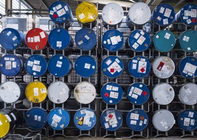 News Foto Pfinder Fässer von oben 400x284 - Läuft wie geschmiert: Innovachem legt die Grundlage für Internationalisierung von Pfinder