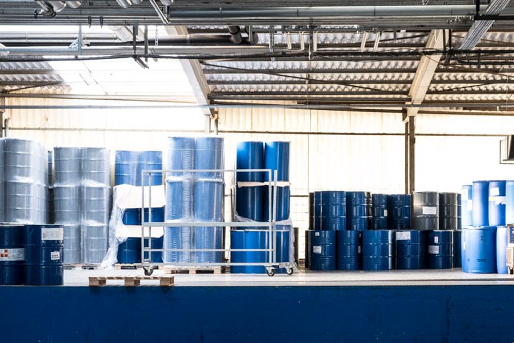 News Foto Pfinder Fässer - Läuft wie geschmiert: Innovachem legt die Grundlage für Internationalisierung von Pfinder