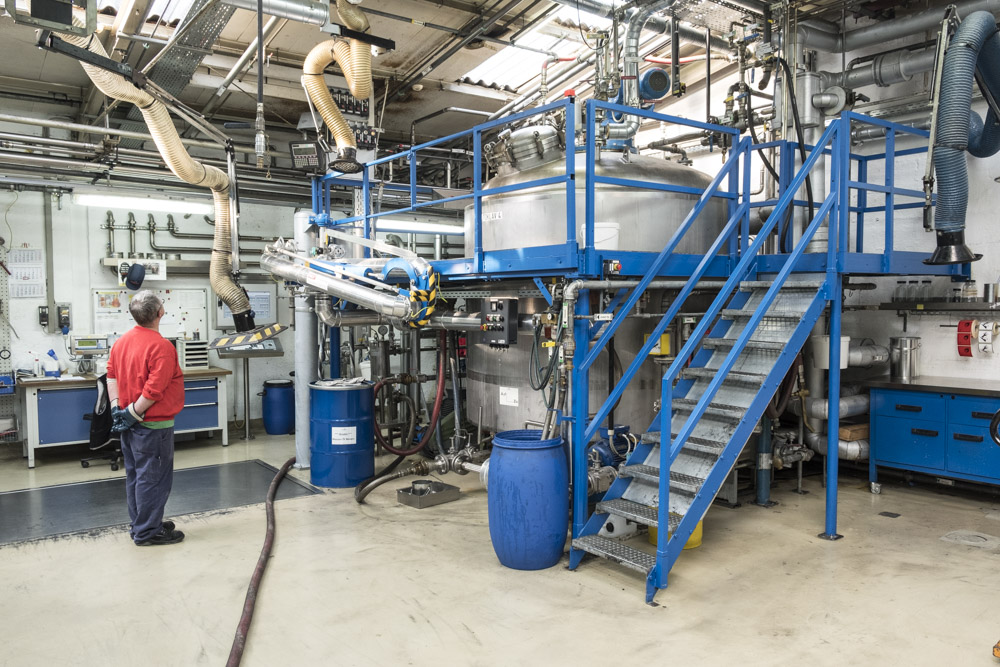 News Foto Pfinder Maschinen - Läuft wie geschmiert: Innovachem legt die Grundlage für Internationalisierung von Pfinder