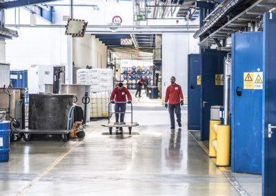 News Foto Pfinder Werkshalle 400x284 - Läuft wie geschmiert: Innovachem legt die Grundlage für Internationalisierung von Pfinder