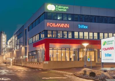 News Foto Follmann Chemie Firmengebäude 400x284 - Migration auf SAP S/4HANA: Bei Follmann und Innovabee stimmt die Chemie