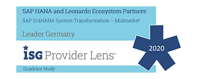 auszeichnung isg provider lens - Blühende IT-Landschaften: Scheurich migriert auf SAP S/4HANA Enterprise Management