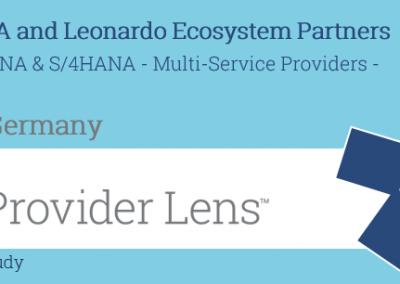 "News Grafik Batch ISG Provider Lens HANA Services 2019 400x284 - ISG Provider Lens™: Innovabee ist ""Leader"" unter den SAP S/4HANA-Anbietern"