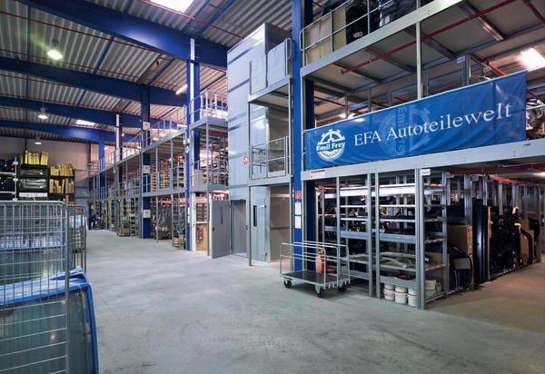 News EFA Foto Lager - Emil Frey Autoteilewelt automatisiert mit SAP S/4HANA Cloud seine Prozesse